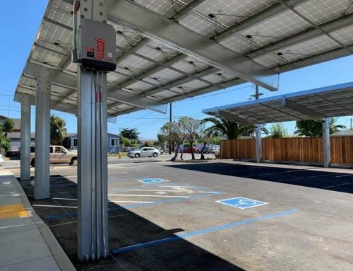 Installing Solar Carport Inverter