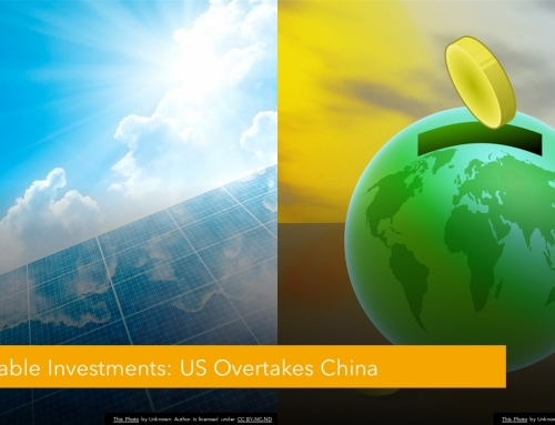 U.S. OVERTAKES CHINA FOR RENEWABLE INVESTMENTS