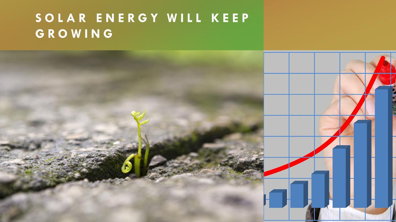 solar will keep growing