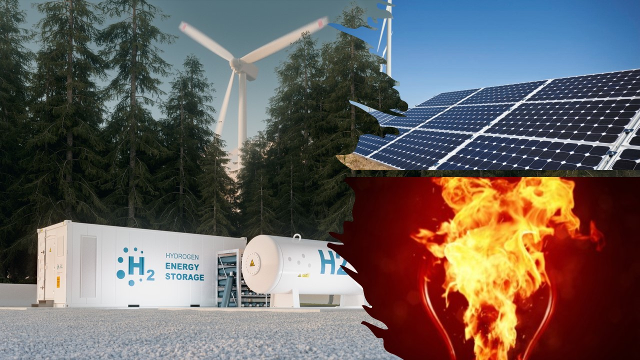 RECORD RENEWABLE ENERGY WASTE IN CALIFORNIA. COULD HYDROGEN BE THE SOLUTION?