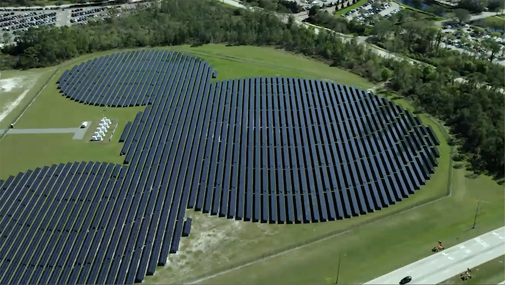 SOLAR ENERGY TO POWER THE MAGIC AT WALT DISNEY PARK