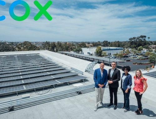 COX COMMUNICATIONS ADDS AN ONSITE SOLAR AND BATTERY STORAGE SYSTEM