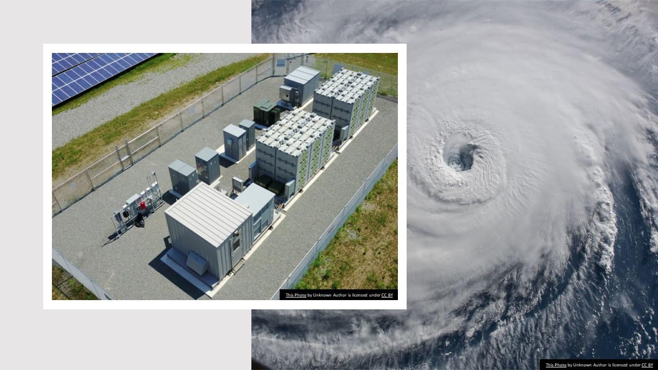 Solar + Storage in Hurricane